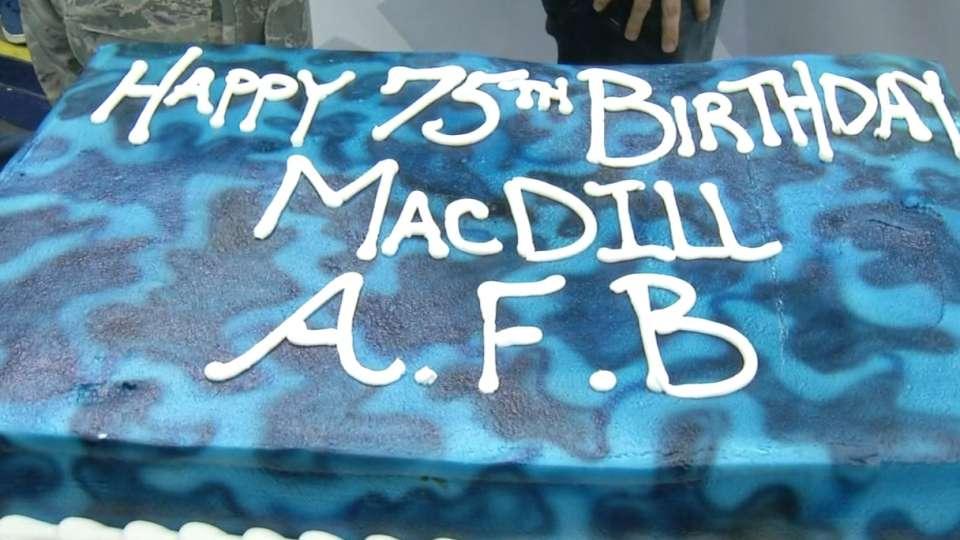 MacDill Birthday Celebration