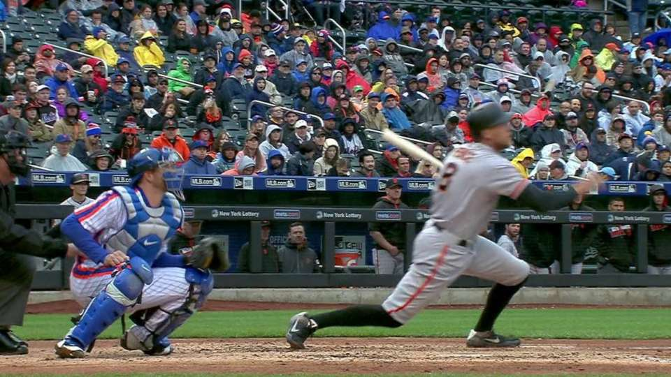 Pence's two-run homer to right