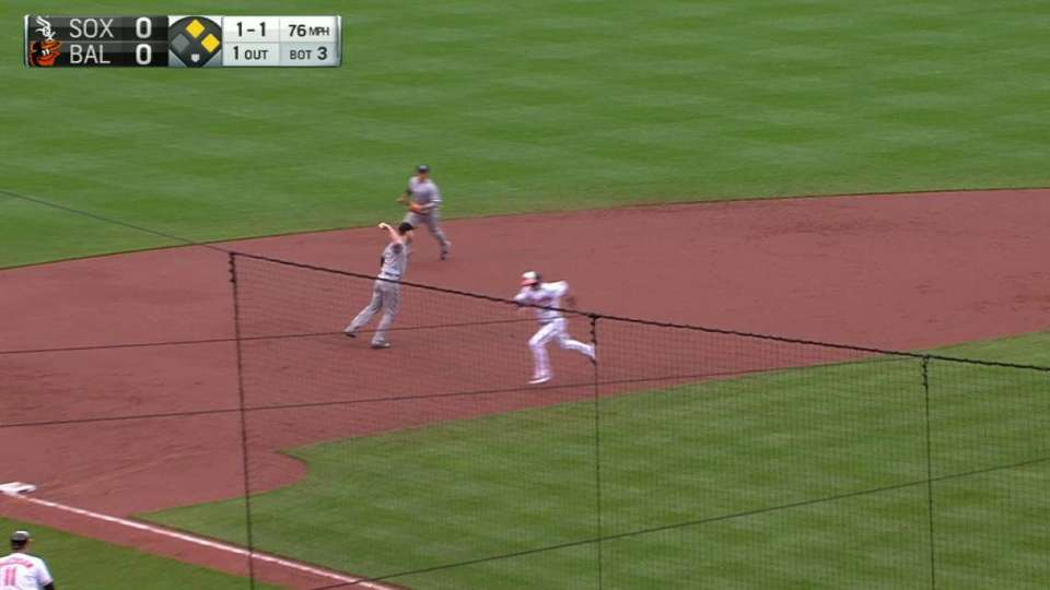 Sale induces key double play