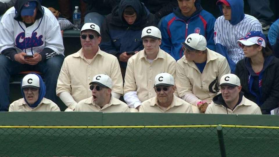 Old-time Cubs fans enjoy game