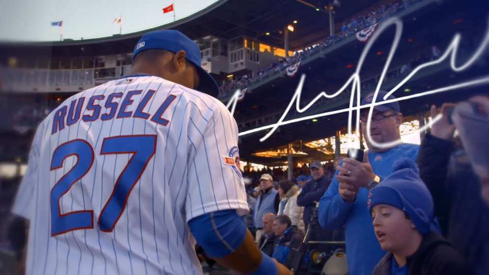 Addison Russell: Watch them grow