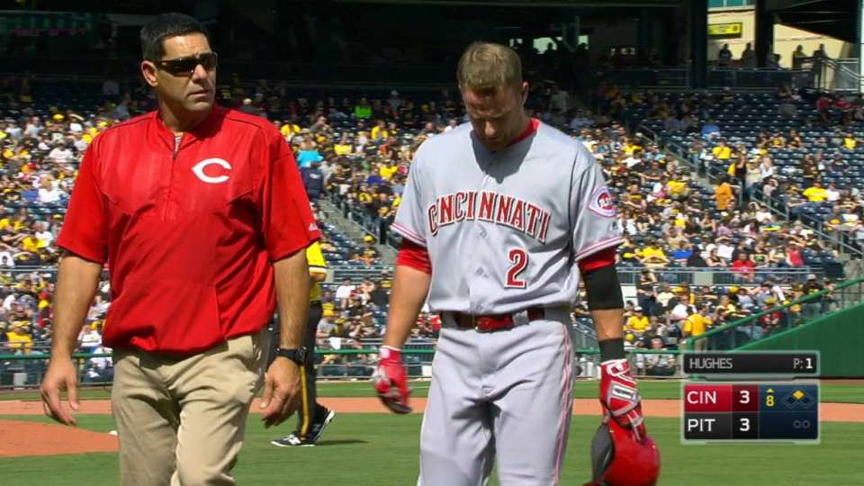 Cozart leaves with injury