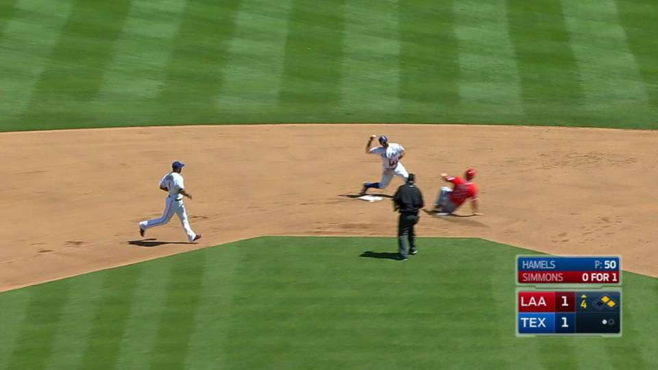 Andrus, Odor turn two