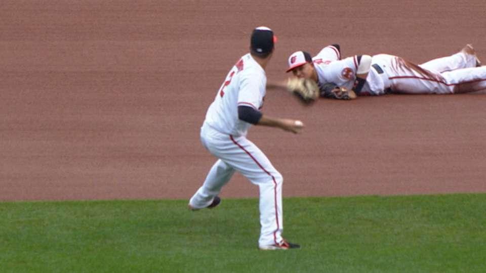 Must C: Orioles' savvy putout