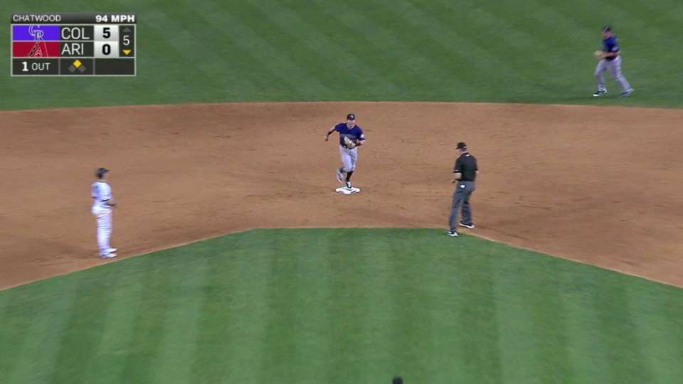 Story's unassisted double play