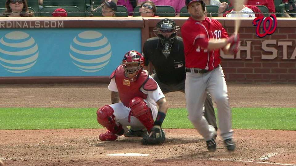Heisey's pinch-hit home run