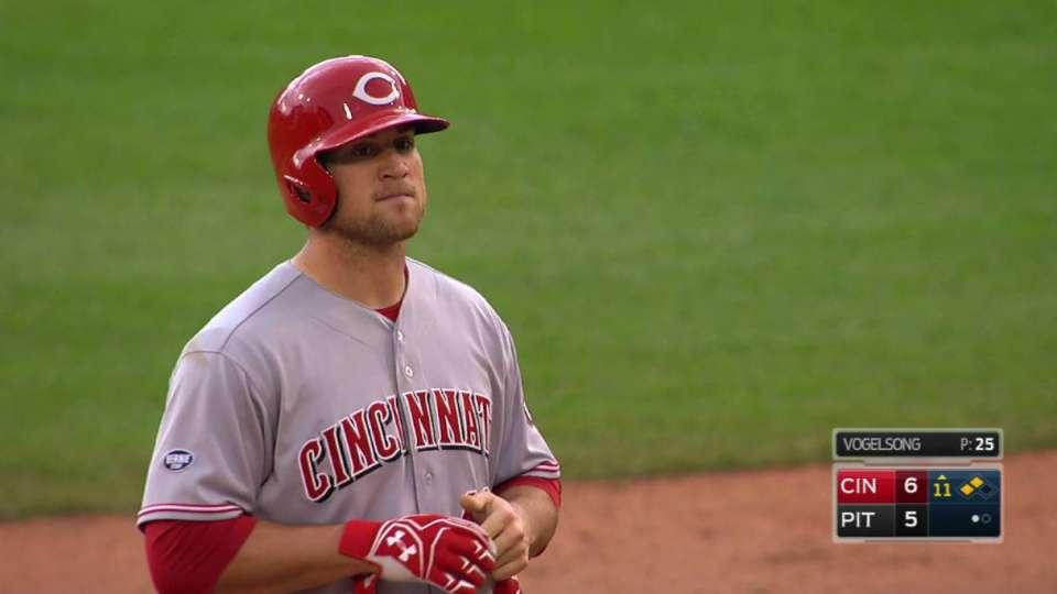 Schebler's 11th-inning double