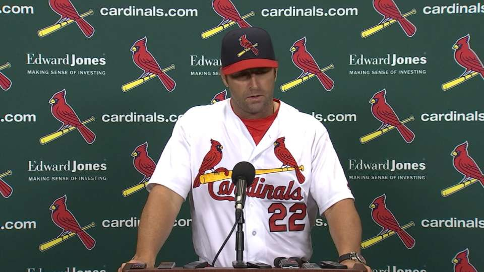 Matheny on getting swept by Nats