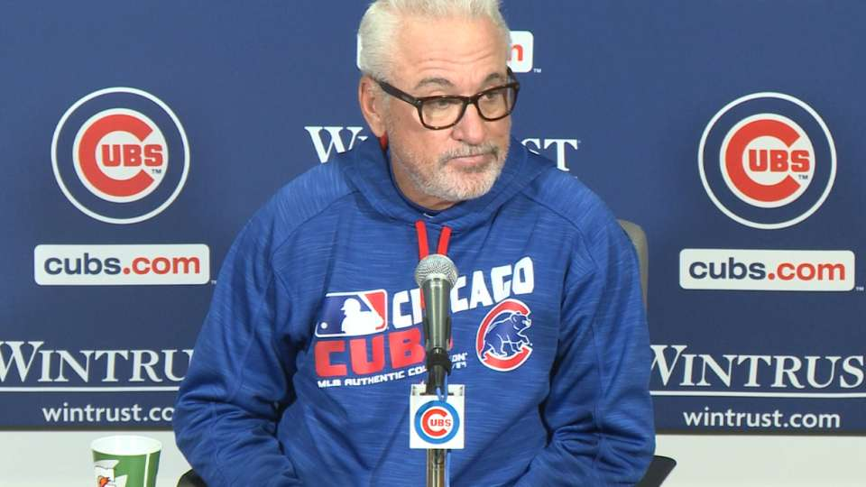 Maddon on 4-3 loss to Braves