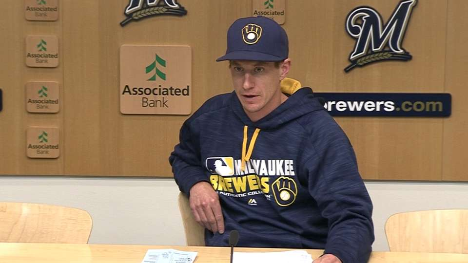 Counsell on Carter's two homers