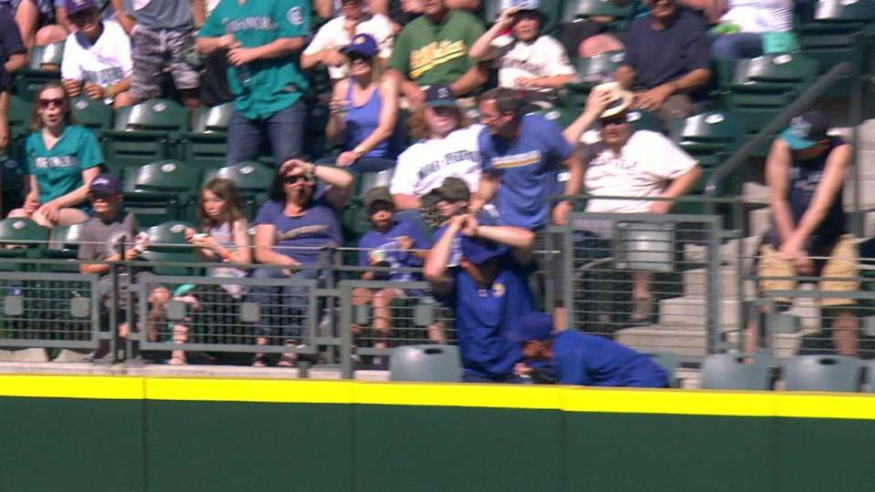 Fans duck for cover on homer