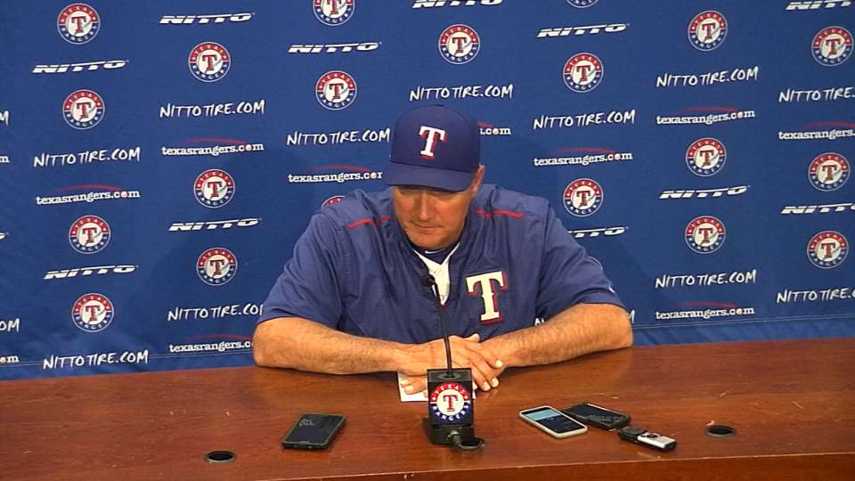 Banister on loss to Angels