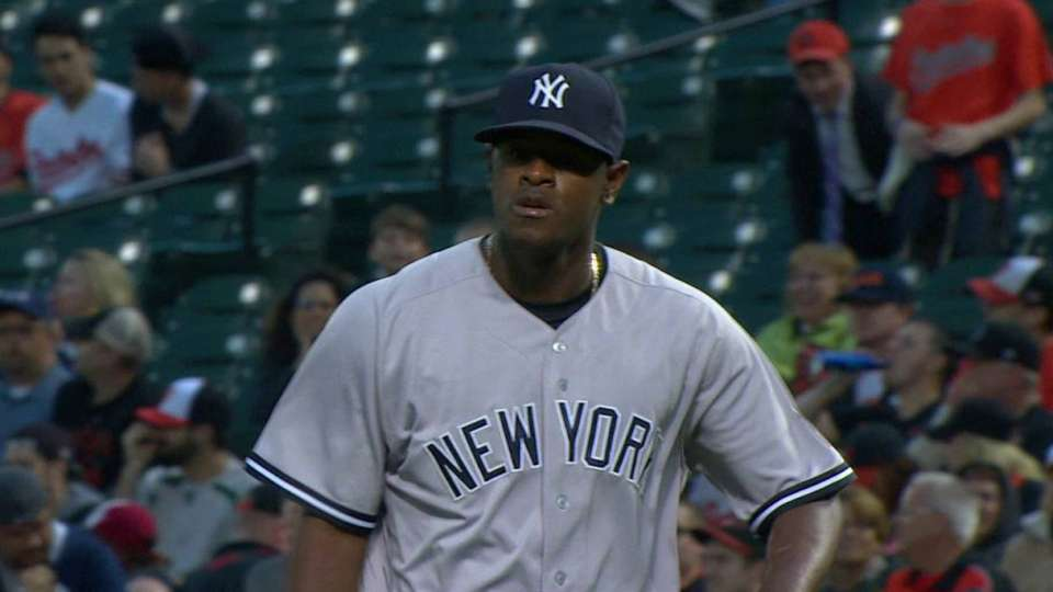 Severino gets out of a jam