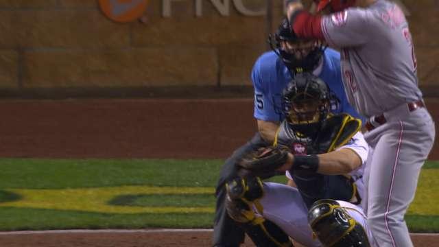 Cervelli\'s great frame skills | 05/04/2016 | MLB.com
