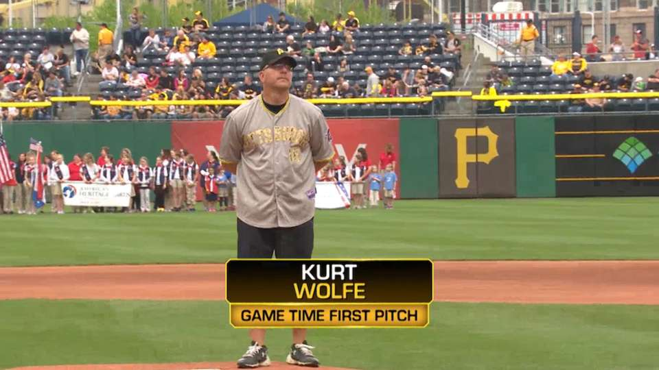 Kurt Wolfe's First Pitch