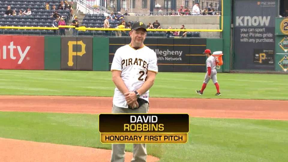 David Robbins' First Pitch