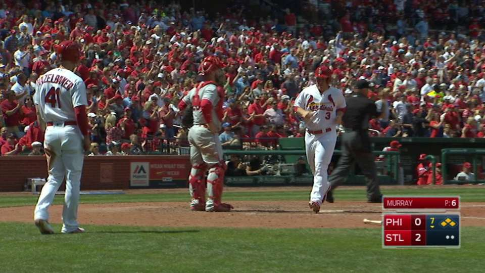 Piscotty's two-run double