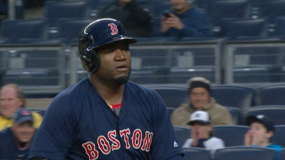 Papi conecta HR contra Yankees