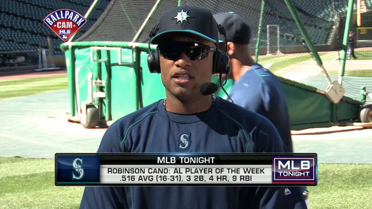 95be9c00bf2 Robinson Cano named AL Player of the Week