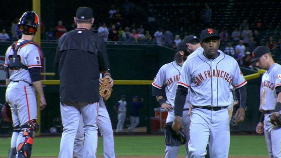 Casilla gets pulled