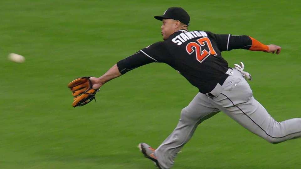 Stanton's sliding catch