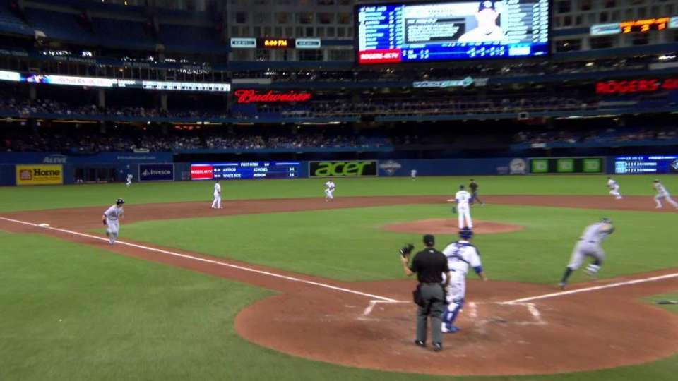 Morrison's RBI fielder's choice