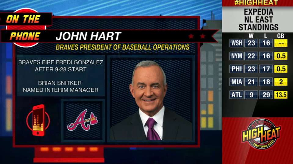 John Hart joins High Heat
