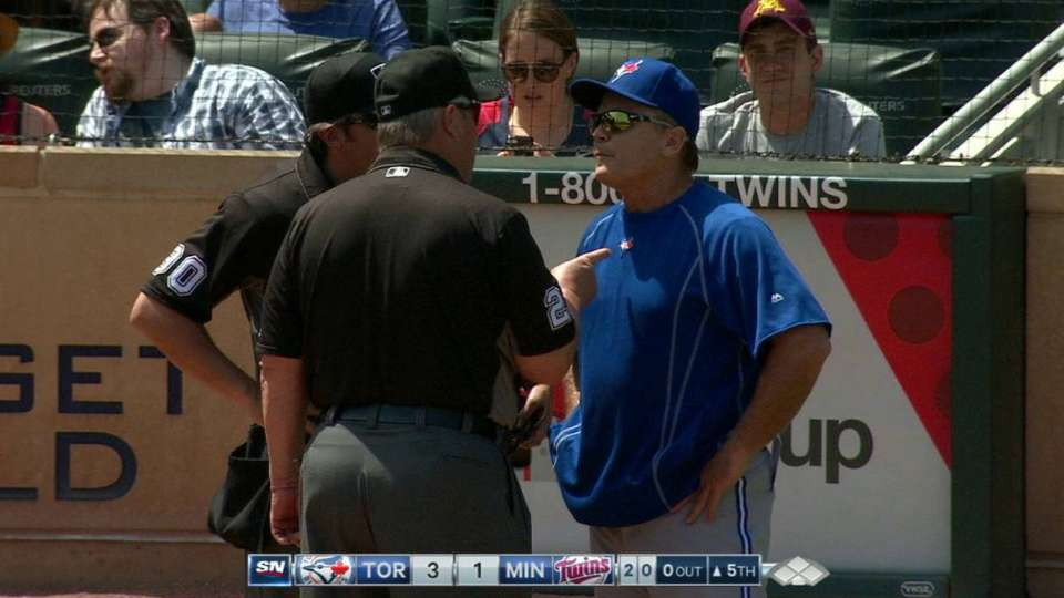 Gibbons is ejected in the 5th