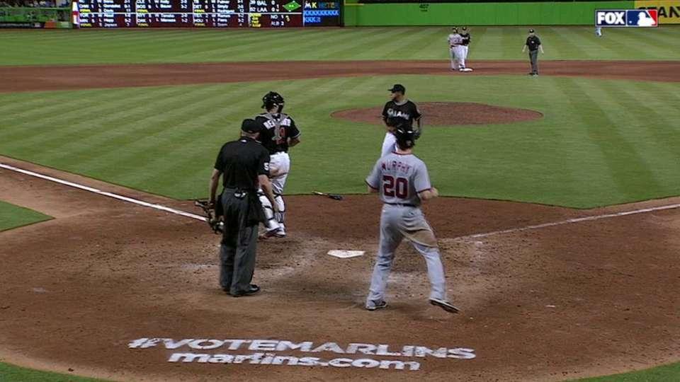 Prado's double play