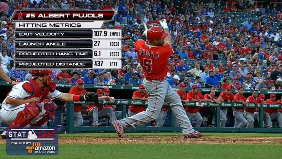 Statcast: Pujols hits No. 569