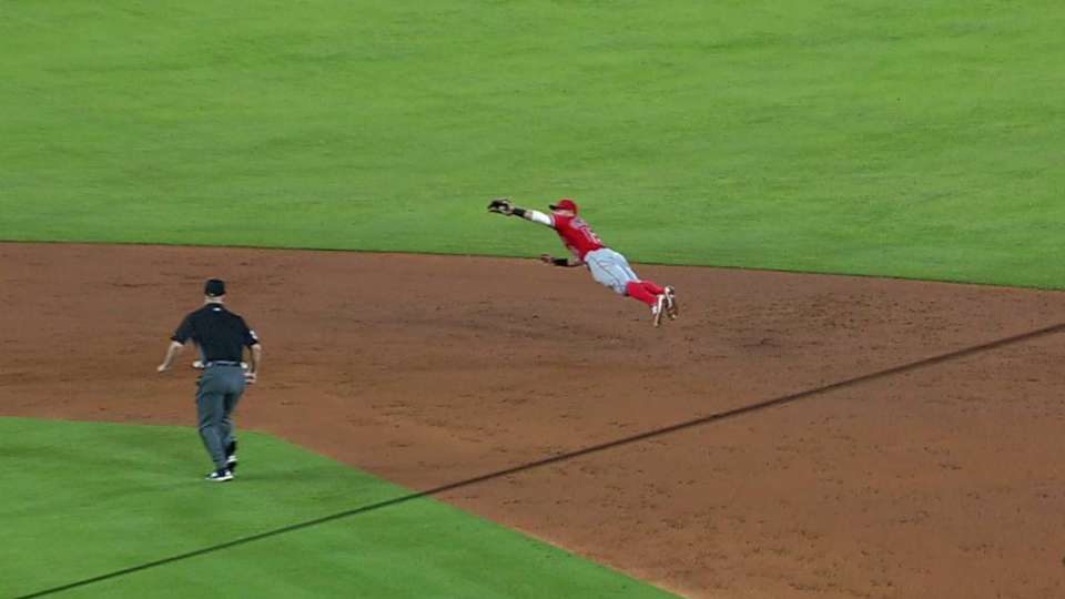 Giavotella's diving catch