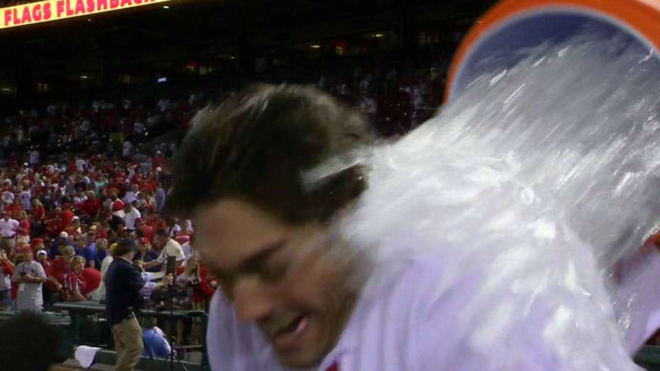 Grichuk on walk-off win