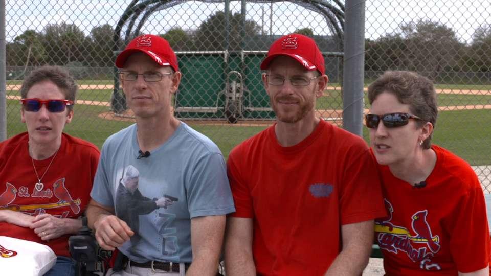 Fans visit Cardinals camp