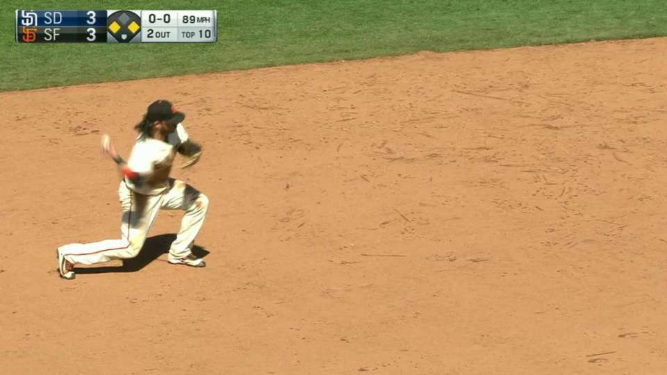 Kontos escapes the jam