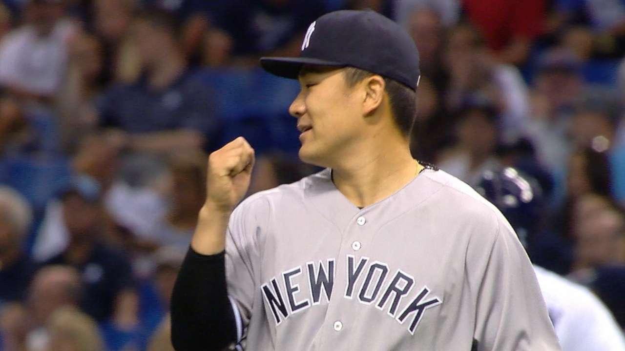 b5987ea14bb Masahiro Tanaka impresses in 2-hit start