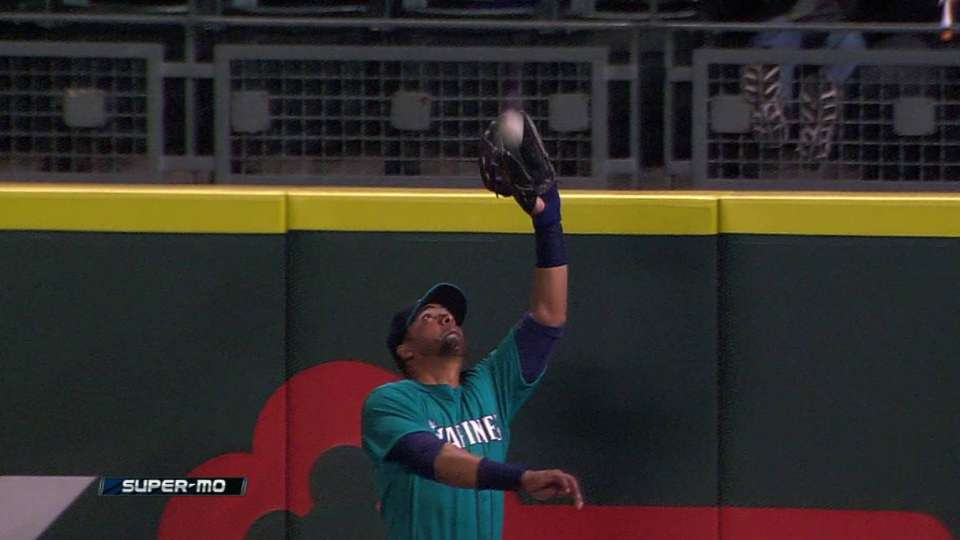 Gutierrez's leaping grab