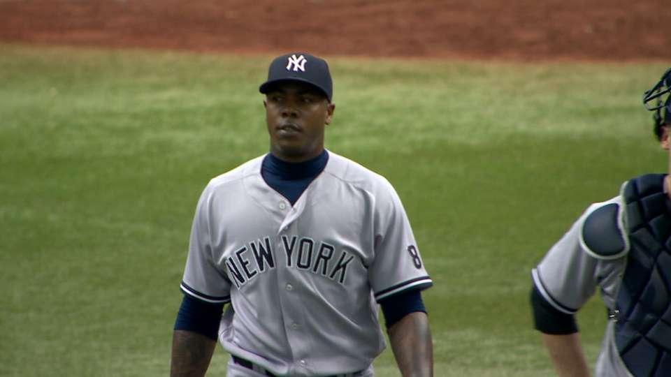 Yanks' bullpen shuts down Rays