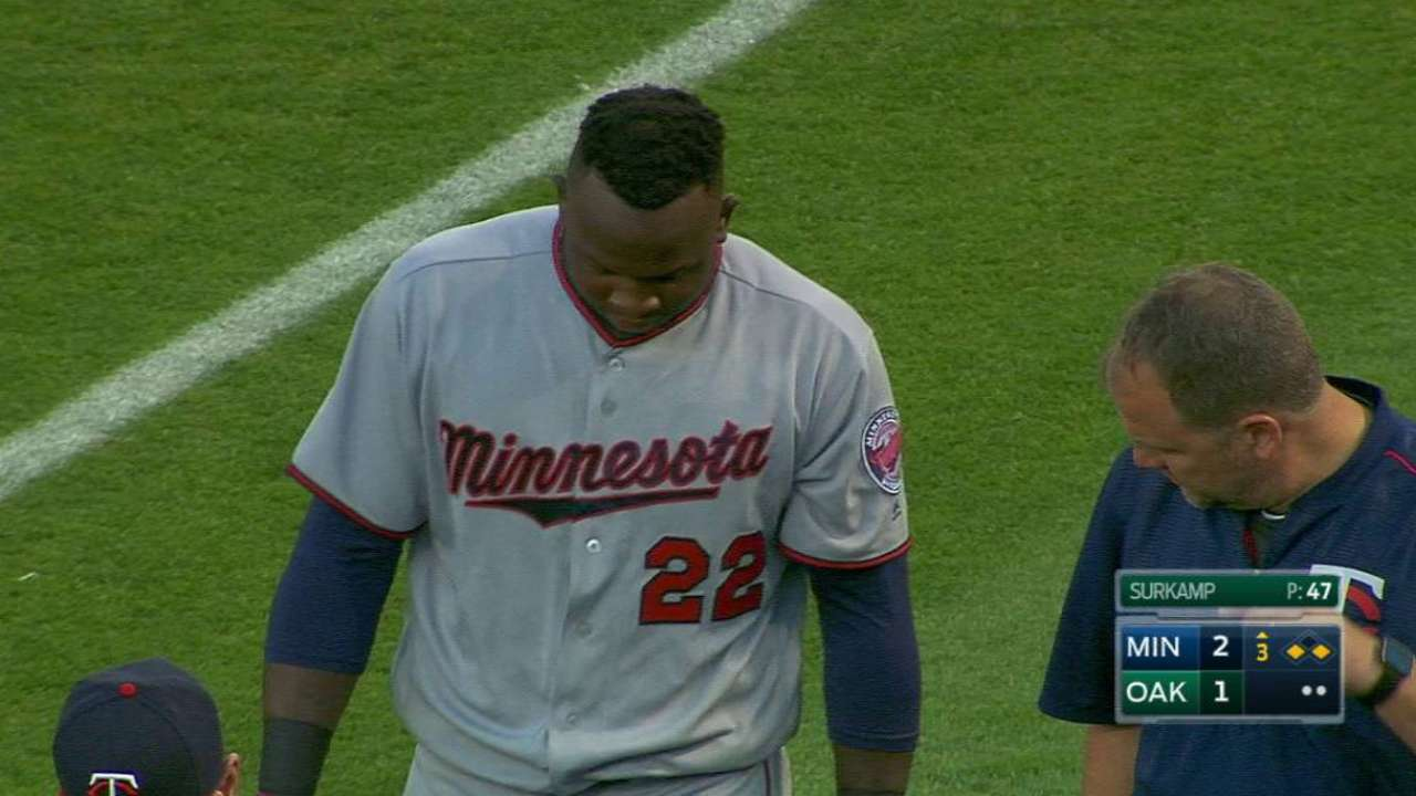 Twins  Miguel Sano on DL with hamstring injury  91859e96d99c