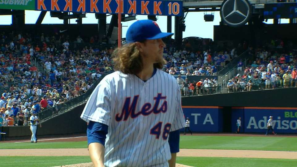 deGrom's outstanding outing
