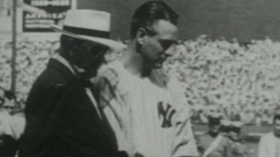 Lou Gehrig's farewell speech