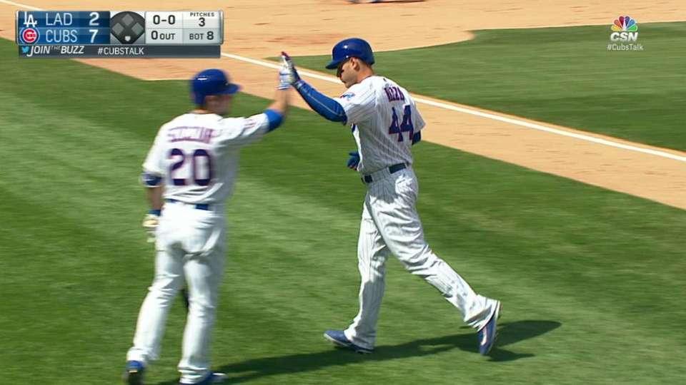 Rizzo's solo home run