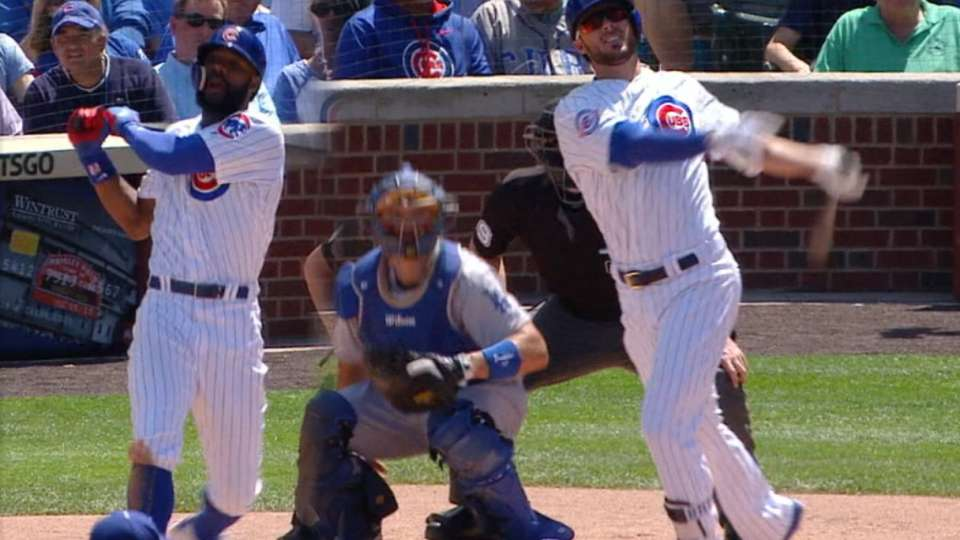 Heyward, Bryant go back-to-back