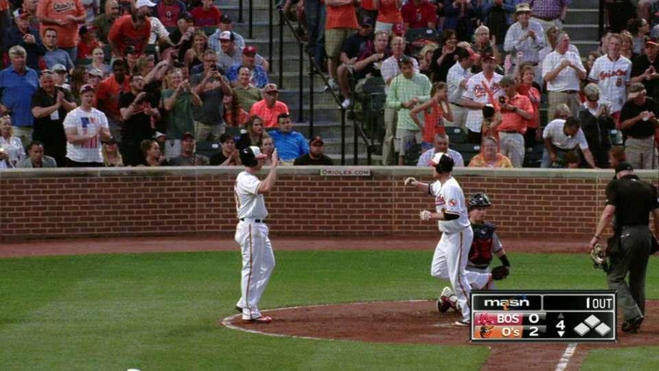 Trumbo's two-run shot