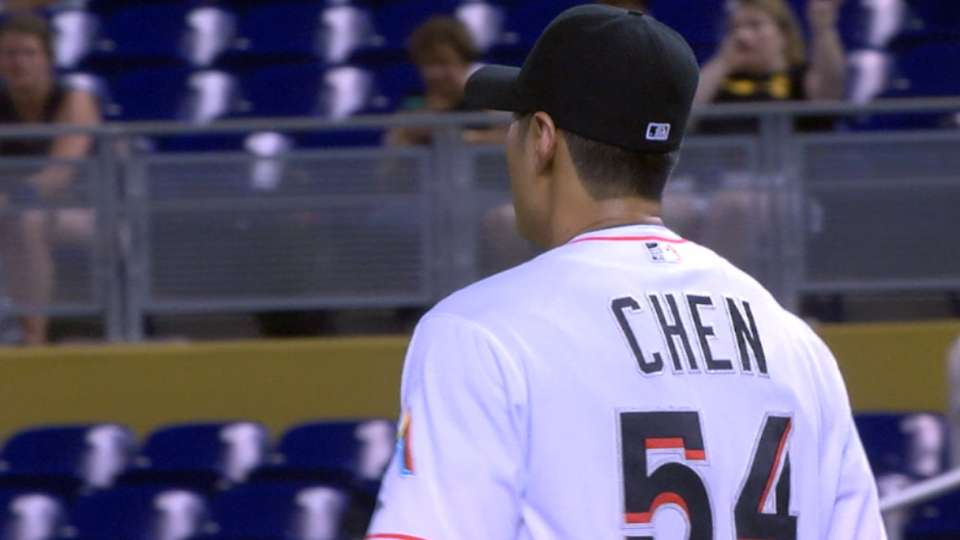 Chen's one-hit outing