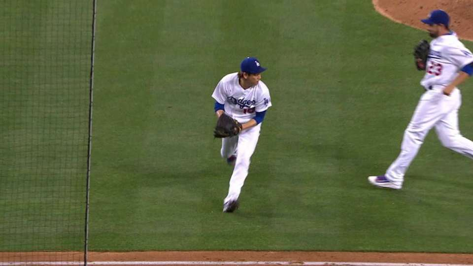 Maeda's great double play