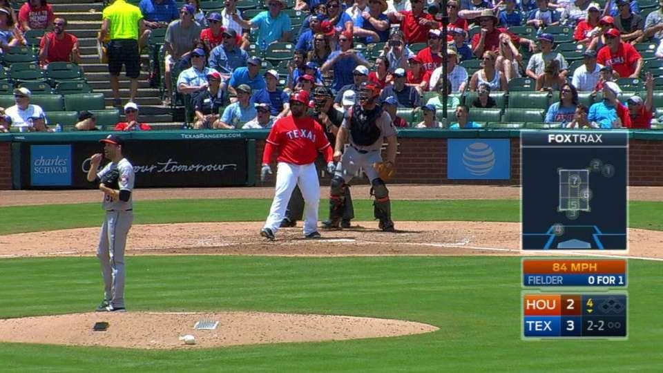 Fielder's solo home run
