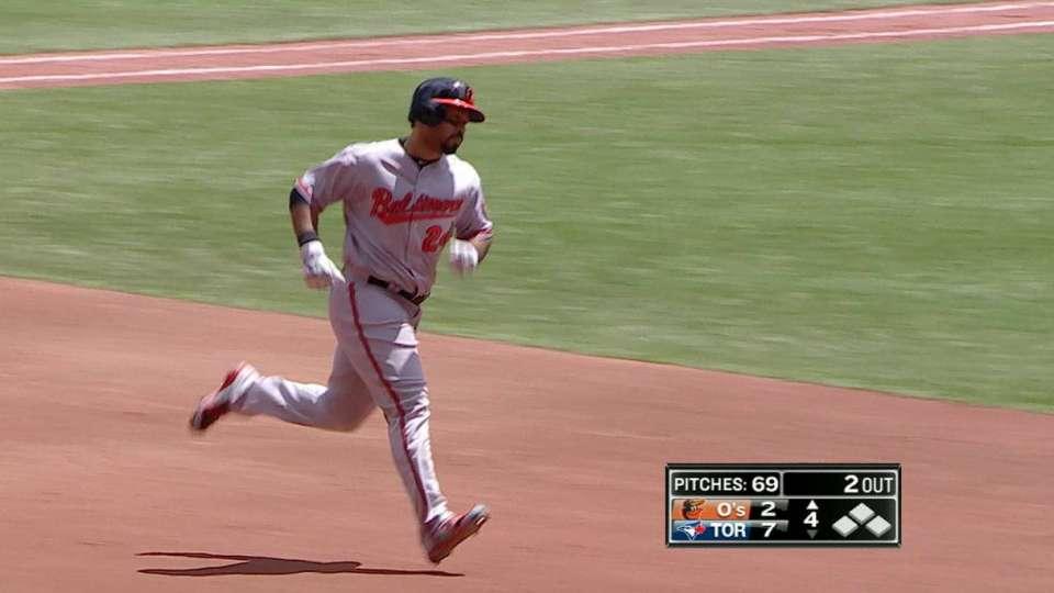 Alvarez's monster solo home run
