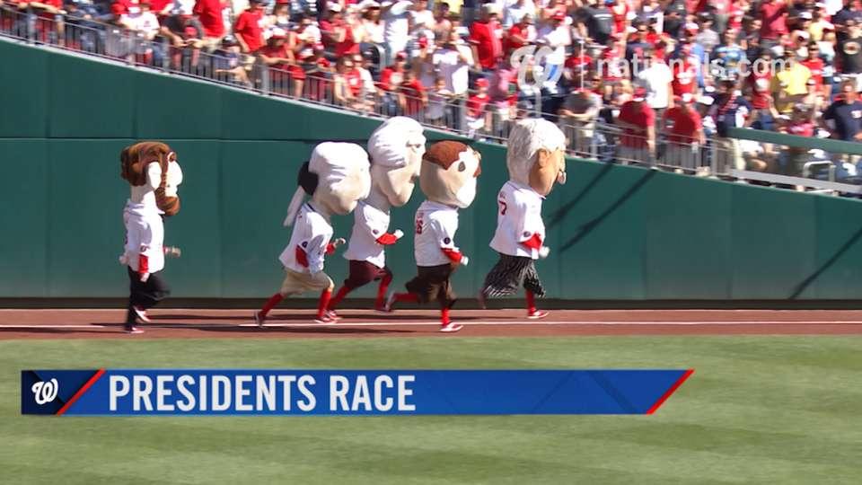 June 12 Presidents Race