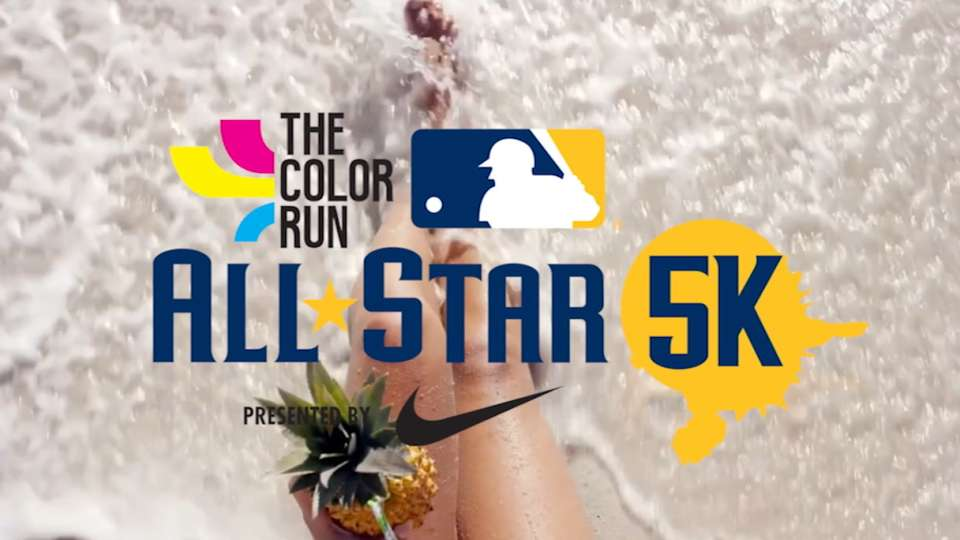 The Color Run MLB All-Star 5K