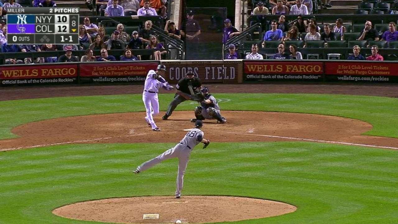 CarGo, De la Rosa unen fuerzas para imponerse a Yankees